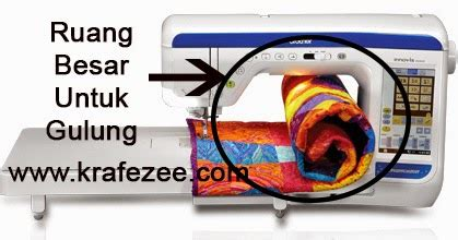 Mesin Quilting Comforter mesin jahit sulam sewing embroidery machine kraf
