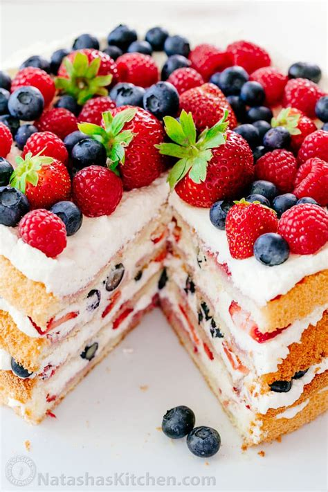Birthday Party Decoration At Home berry tiramisu cake recipe natashaskitchen com