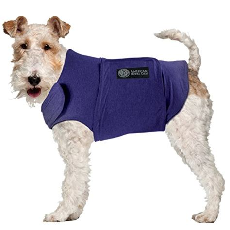 calming coat for dogs akc american kennel club anti anxiety and stress relief calming coat for dogs