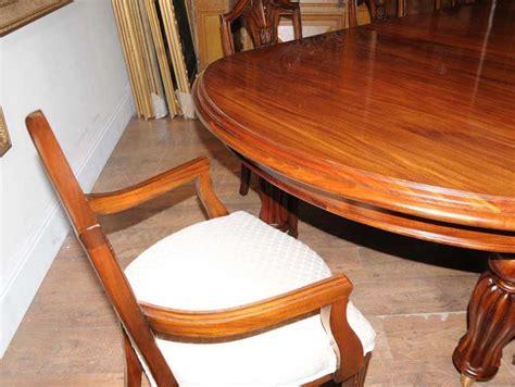 mahogany dining table chairs extender sheraton