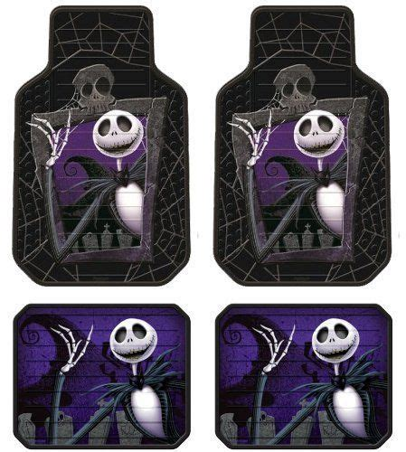 Nightmare Before Floor Mats by Nightmare Before Skellington Graveyard