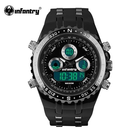 Pilot Digital Water Resist aliexpress buy infantry mens watches pilot reloj digital sports watches fashion luxury