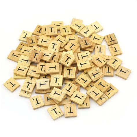wood scrabble wooden scrabble tiles custom letters set for jewelry