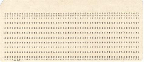 computer punch card template zajęcia z podstaw informatyki prehistoria i historia