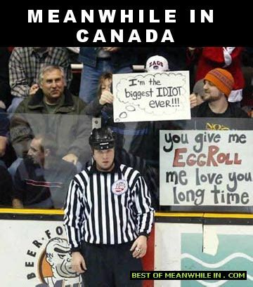 Canada Hockey Meme - best quot meanwhile in canada quot memes