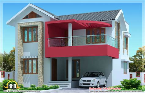 2030 sq simple modern house in trivandrum kerala