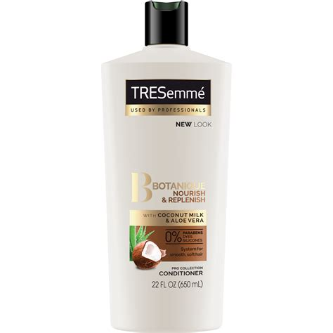 tresemme hair products article botanique nourish and replenish conditioner