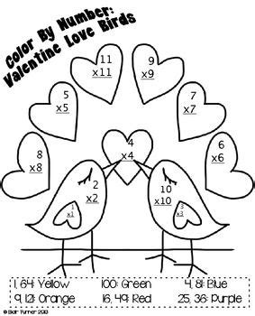 valentine coloring pages by numbers valentine s day color by number multiplication