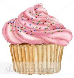 Pink cupcake clipart valentine s day clipart