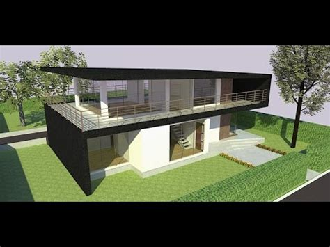 house design sketchup youtube sketchup speed build modern house youtube