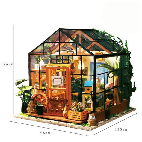 dollhouse greenhouse aliexpress buy casey s greenhouse garden diy doll