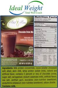 Ideal protein ideal protein restricted foods 2015