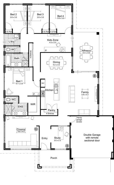 and floor plans house plans open floor plan lcxzz beautiful best open