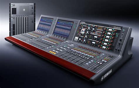 Mixer Yamaha Rivage Pm10 yamaha sorprende en nab con la nueva rivage pm10 panorama audiovisual