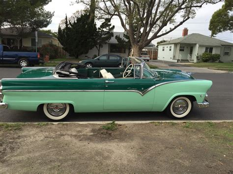 ford convertible 1955 ford sunliner convertible no reserve
