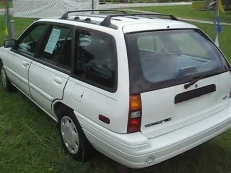 how does cars work 1994 ford escort navigation system 1994 ford escort station wagon auto ac looks drives and runs great ocala florida youtube