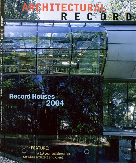 Records For Houses Architectural Record Record Houses 2004 April 2004 171 Mack Scogin Merrill Elam