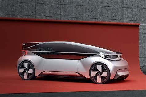 volvos  concept car   fully autonomous bedroom  wheels  verge