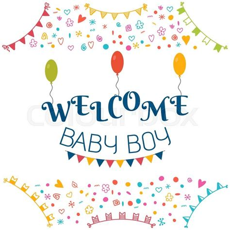 Boy Baby Shower Card Messages by Welcome Baby Boy Baby Shower Greeting Card Baby Boy