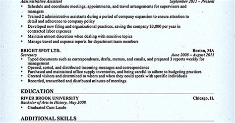 administrative assistant resume should be well noticed if administrative assistant resume should be well noticed if