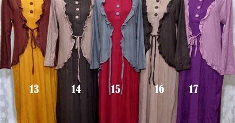 Paling Laris Gamis Pink Dress Busui Baju Menyusui Murah Viano D modelbaju24 jual baju gamis model terbaru
