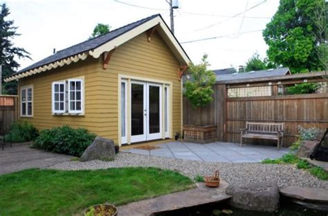 garage  tiny cottage