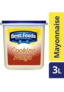 Best Foods Mayonnaise 3l best foods professional cooking mayo 3l unilever food solutions