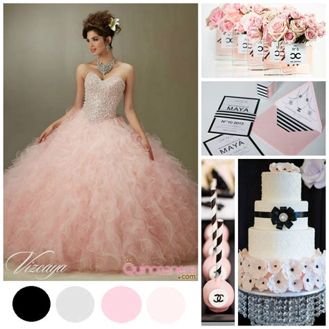 quinceanera elegant themes a chic elegant coco chanel quinceanera theme chanel