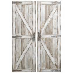 antique barn door antique white rustic barn doors pier 1 imports