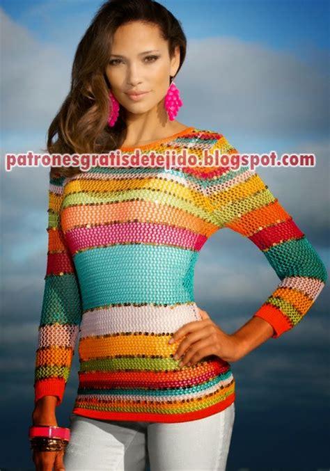 modelos de sweaters en dos agujas de mis manos tejidos y precioso su 233 ter de dama tricot dos agujas crochet y