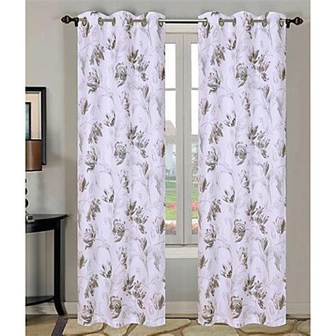 laura ashley curtain rods laura ashley 174 gosford 84 inch rod pocket window curtain