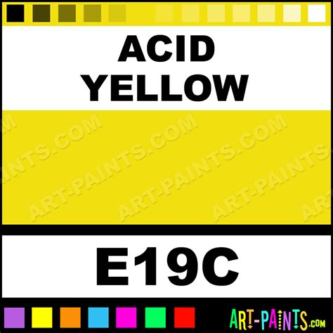 acid yellow original markers calligraphy inks pigments and paints e19c acid yellow paint