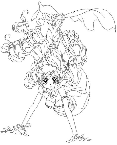 anime mermaid coloring pages coloring pages