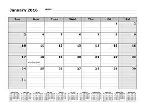 2016 monthly calendar template 2016 monthly calendar template with 12 months references