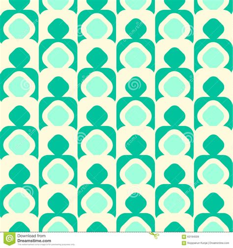 vector seamless pattern abstract background with round geometric seamless pattern background with round corner