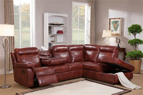 real leather sectional 2 piece hariston genuine leather sectional