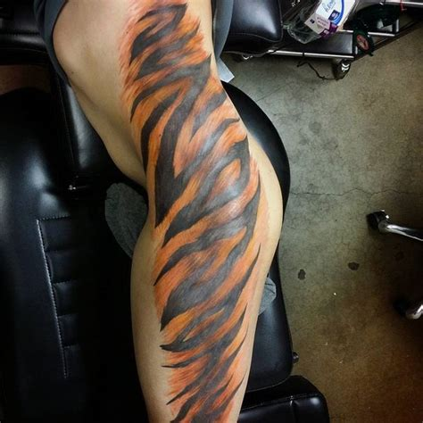 tiger stripe tattoo 60 awesome tiger designs with meanings