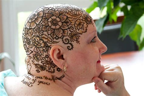 henna tattoo side effects beautiful henna crowns help cancer patients overcome their