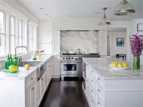 White Kitchen Cabinets With Marble Countertops After Pics The Kitchen Longest Post In History Edition