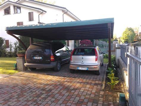 copertura box auto excellent cover auto in legno di abete lamellare con arco
