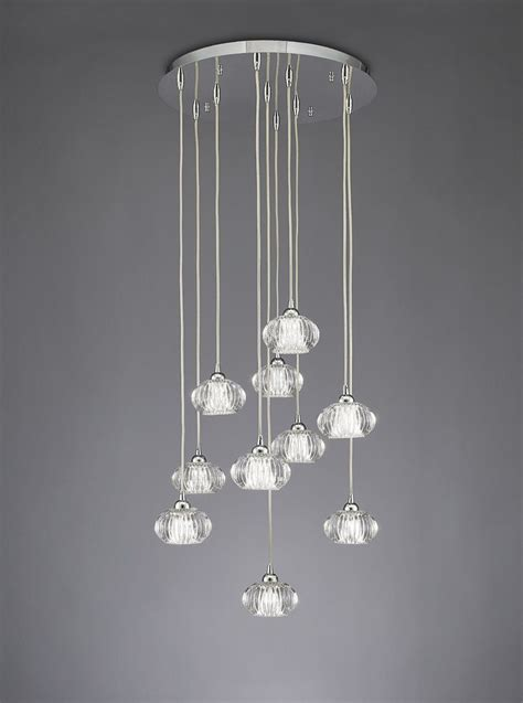 Cluster Ceiling Lights Franklite Tizzy 10 Light Cluster Ceiling Light Fl2344 10 Franklite Lighting Luxury Lighting