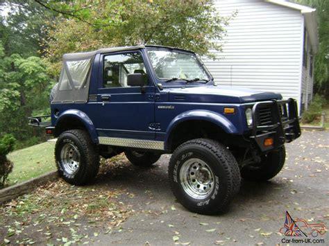 Suzuki 4x4 Samurai Suzuki Samurai 4x4 1988 1988 5 Rust Free