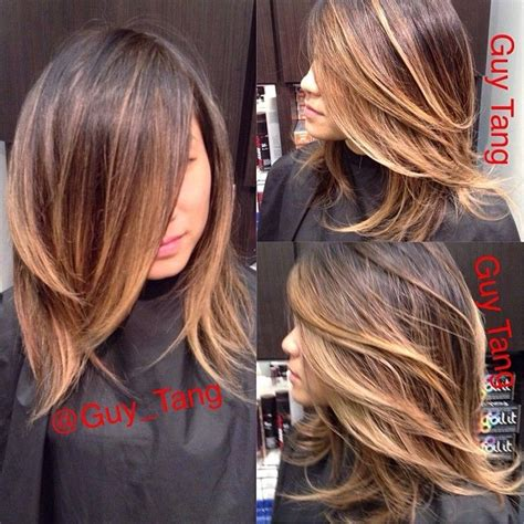 how to ombre shoulder length hair ombre hair for medium length google search hair