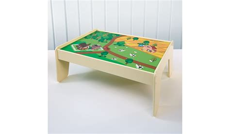 Play Table For Toddler by George Home Wooden Play Table George At Asda
