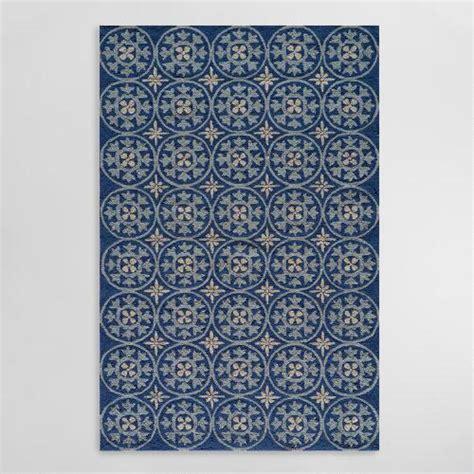 cost plus outdoor rugs blue pagoda indoor outdoor area rug world market