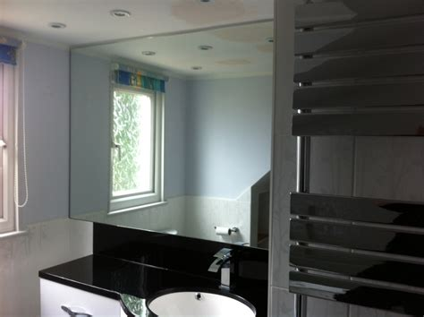 bespoke bathroom mirrors shower screens and mirrors leydene glass glazing