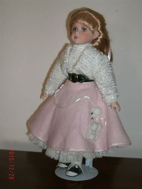 porcelain doll with cloth doll porcelain with cloth original clothing
