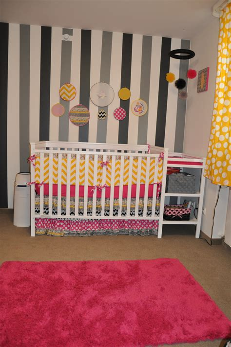 pink yellow gray owl nursery project nursery