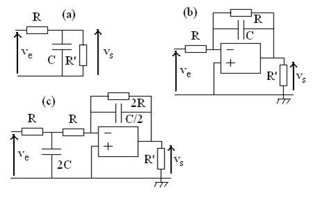 exercice corrigé diagramme de bode fonction de transfert divers