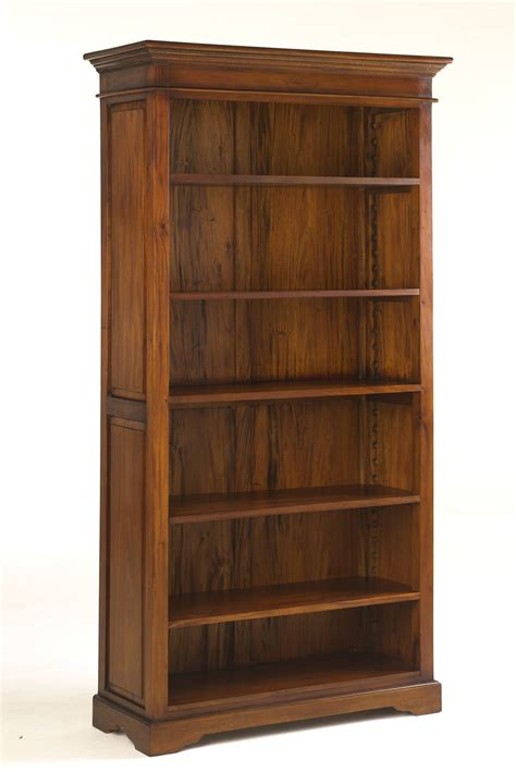 Large Open Bookshelf Large Open Wooden Bookcase Traditional Furniture
